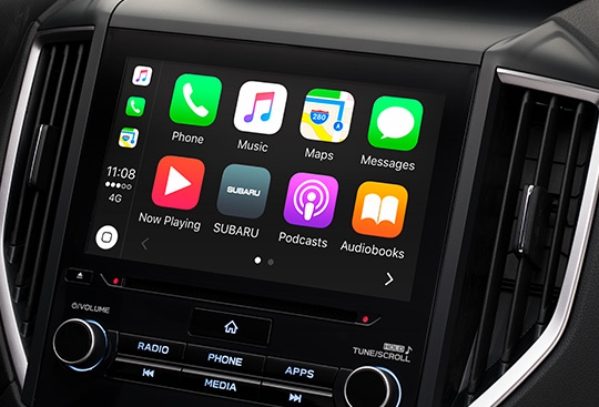 Apple CarPlay*1 and Android Auto*2