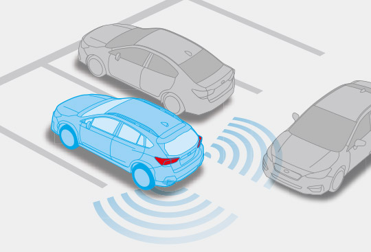 Subaru Rear Vehicle Detection (SRVD)*2
